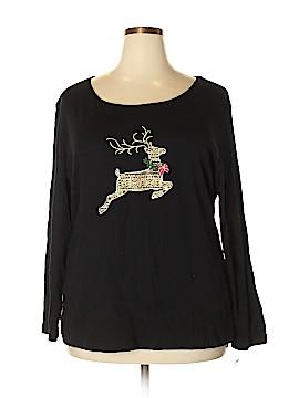Karen Kane 3/4 Sleeve T-Shirt Size 2X (Plus)