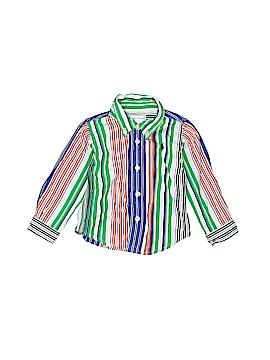 Ralph Lauren Long Sleeve Button-Down Shirt Size 6 mo