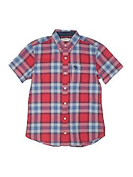 Abercrombie Short Sleeve Button-Down Shirt Size 12