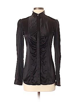 Burberry Long Sleeve Silk Top Size 40 (IT)
