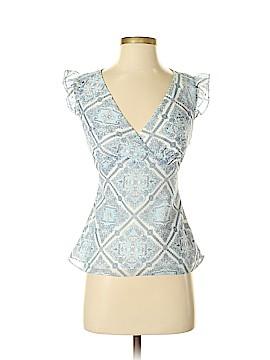 Ann Taylor LOFT Short Sleeve Blouse Size 0