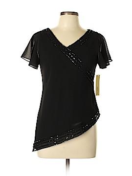 Amanda Smith Short Sleeve Blouse Size 10