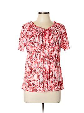 Croft & Barrow Short Sleeve Button-Down Shirt Size L