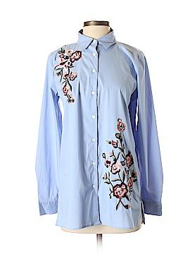 Ann Taylor Factory Long Sleeve Button-Down Shirt Size S