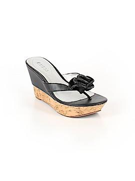 Guess Flip Flops Size 6 1/2