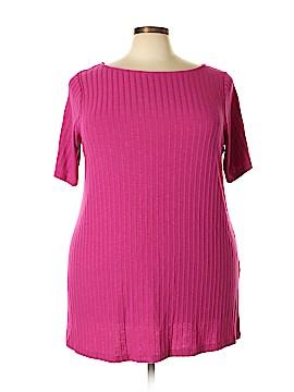 Roaman's Short Sleeve Top Size 22 (1X) (Plus)
