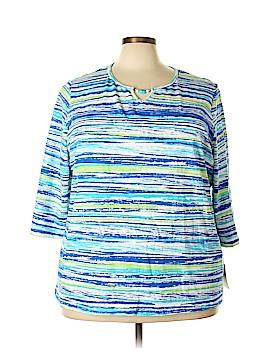 Breckenridge 3/4 Sleeve Top Size 3X (Plus)