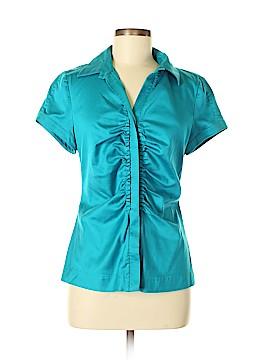 Antonio Melani Short Sleeve Button-Down Shirt Size M