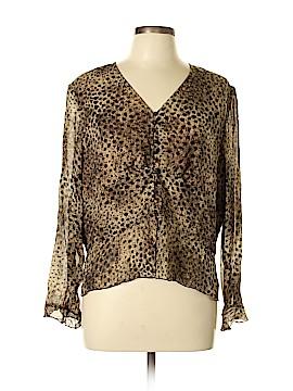 Carlisle Long Sleeve Silk Top Size 18 (Plus)