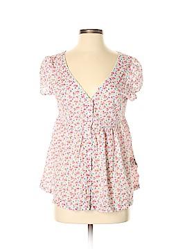 Denim & Supply Ralph Lauren Short Sleeve Blouse Size M
