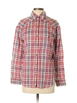 Billabong Long Sleeve Button-Down Shirt Size S (Petite)
