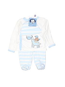 Gerber Long Sleeve Button-Down Shirt Newborn