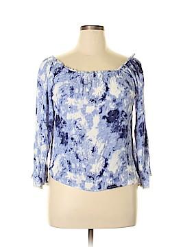 No Comment 3/4 Sleeve Blouse Size L