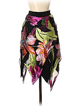 Cache Silk Skirt Size M