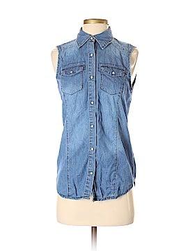 Ci Sono Short Sleeve Button-Down Shirt Size S