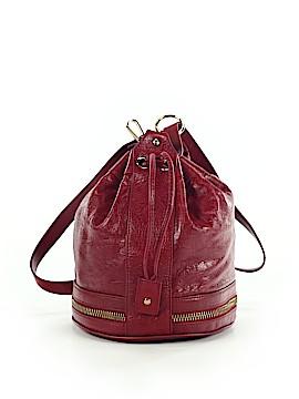 Via Spiga Leather Bucket Bag One Size