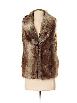 Dina Be Faux Fur Vest Size S