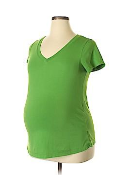 Duo Maternity Short Sleeve T-Shirt Size L (Maternity)