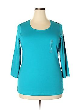Karen Kane Short Sleeve T-Shirt Size 0X (Plus)