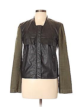 Sans Souci Faux Leather Jacket Size L