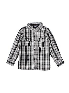 Rebel Long Sleeve Button-Down Shirt Size 6