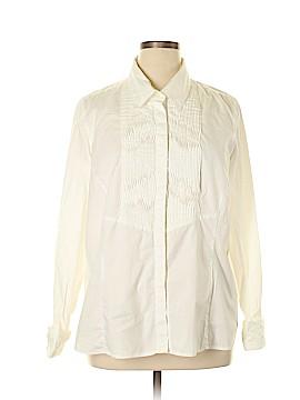 Lane Bryant Long Sleeve Button-Down Shirt Size 18/20 Plus (3) (Plus)