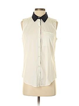 Ann Taylor LOFT Sleeveless Button-Down Shirt Size 4