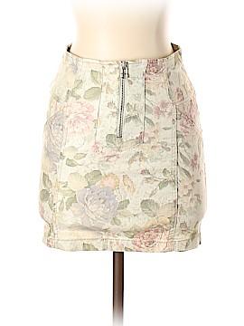 Stradivarius Denim Skirt Size 6 (UK)