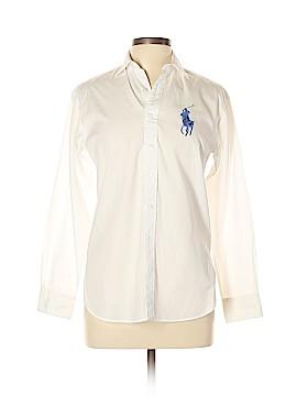 Ralph Lauren Black Label Long Sleeve Button-Down Shirt Size 4