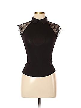 Karen Millen Short Sleeve Top Size Lg (4)