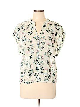 Frenchi Short Sleeve Blouse Size XL