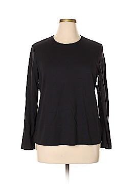 Laura Scott Long Sleeve T-Shirt Size XL (Petite)