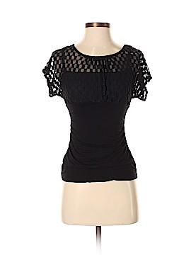 BCX Short Sleeve Blouse Size S