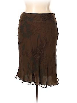 Calvin Klein Silk Skirt Size 14