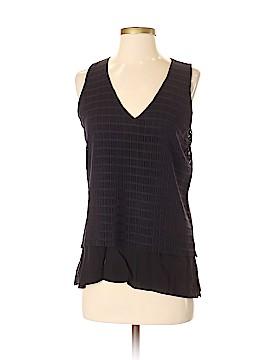 Waverly Grey Sleeveless Blouse Size XS
