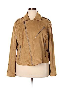 Lane Bryant Faux Leather Jacket Size 22-24 Plus  (Plus)
