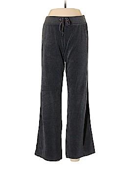 New York & Company Velour Pants Size L (Tall)