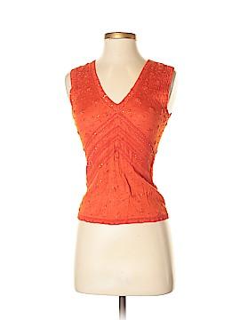 Carolina Herrera Sleeveless Silk Top Size S