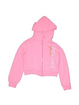 Total Girl Zip Up Hoodie Size 6 - 6X