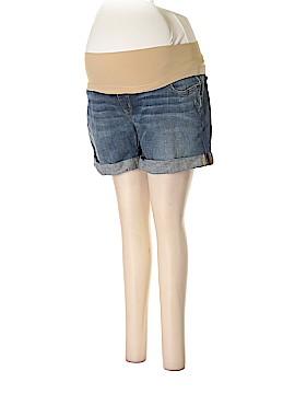 A Pea in the Pod Denim Shorts Size L (Maternity)