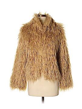 Donna Salyers' Fabulous Furs Faux Fur Jacket Size XS