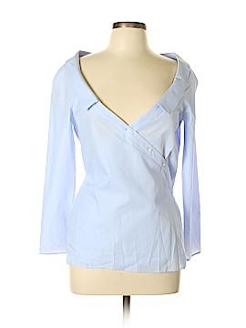 Zara TRF Long Sleeve Button-Down Shirt Size L