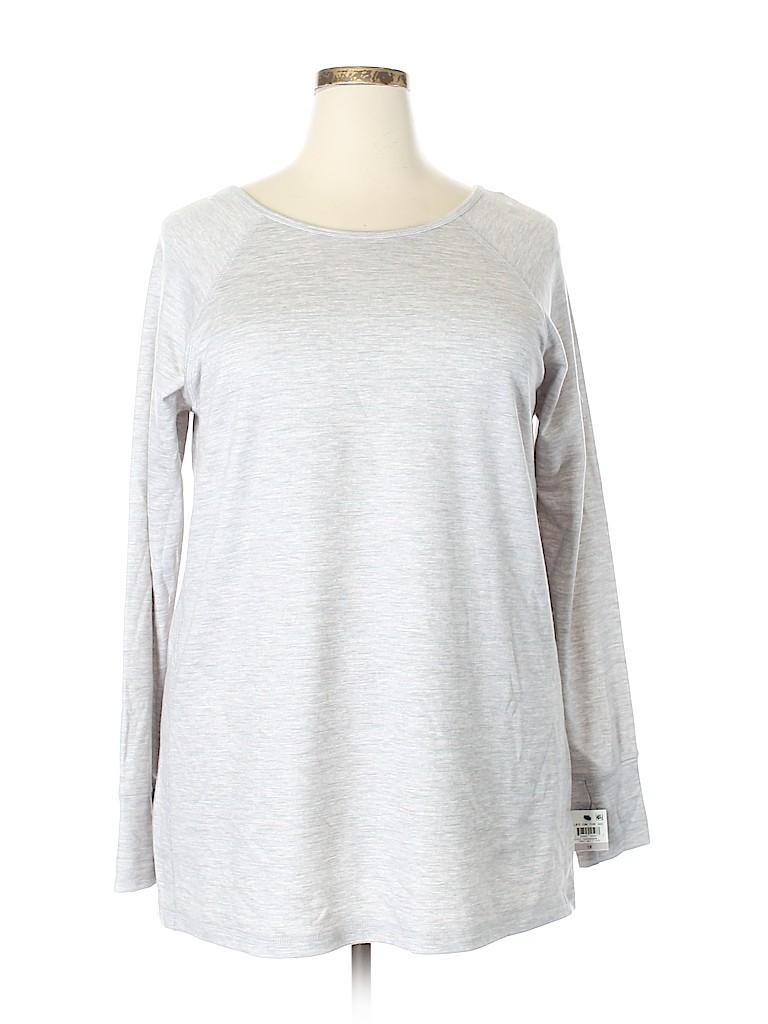 Ideology Women Sweatshirt Size 1X (Plus)