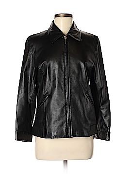ColeBrook Leather Jacket Size S