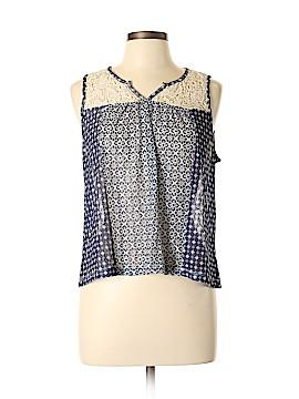 Arizona Jean Company Sleeveless Blouse Size L