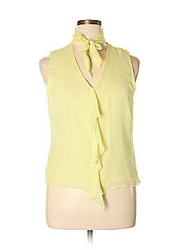 Worthington Sleeveless Silk Top Size 16