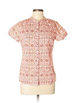 Carole Little Short Sleeve Button-Down Shirt Size L