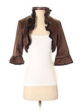 Marc Bouwer Glamit! Silk Blazer Size 4