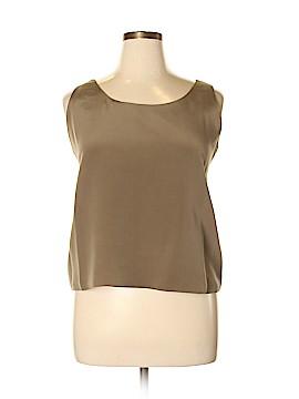 Doncaster Sleeveless Silk Top Size XL