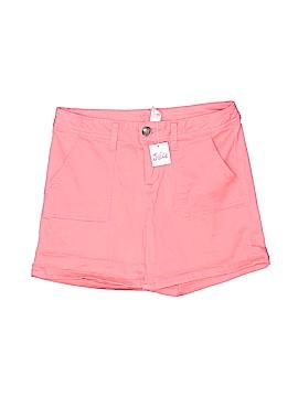 Justice Khaki Shorts Size 14